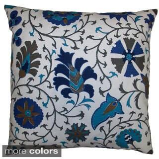 Calypso Feather Filled Throw Pillow