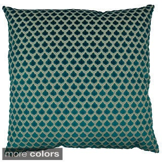 Posh Feather Filled Throw Pillow
