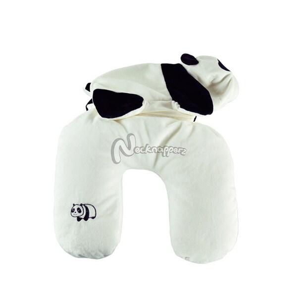 Julong the Panda Necknapperz Plush and Pillow