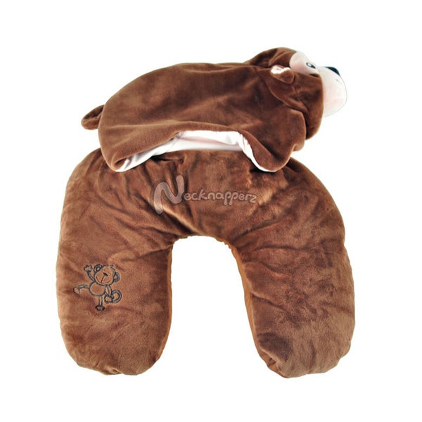 Nanners the Monkey Necknapperz Plush and Pillow