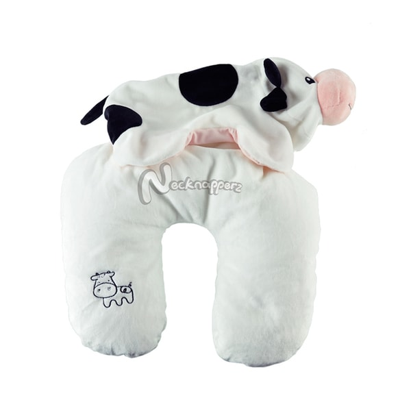 Belle the Cow Necknapperz Plush and Pillow