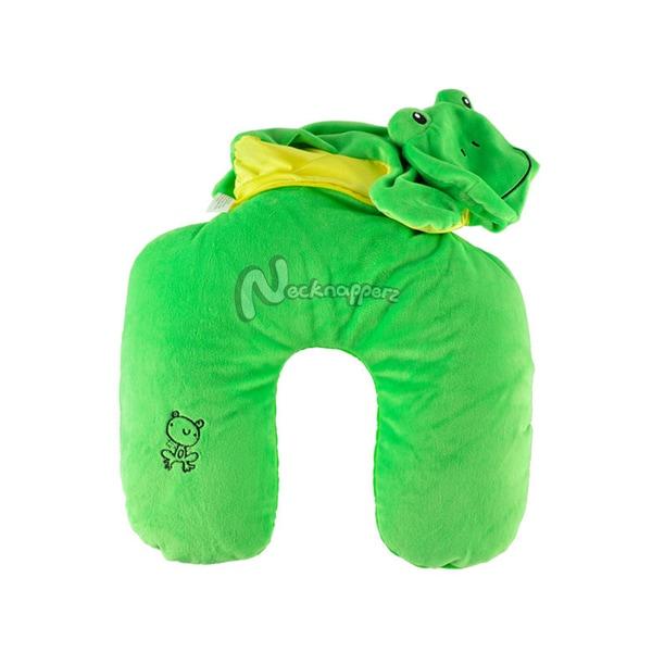 Hopper the Frog Necknapperz Plush and Pillow