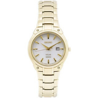 Seiko Women's SUT142 Classic Goldtone Watch