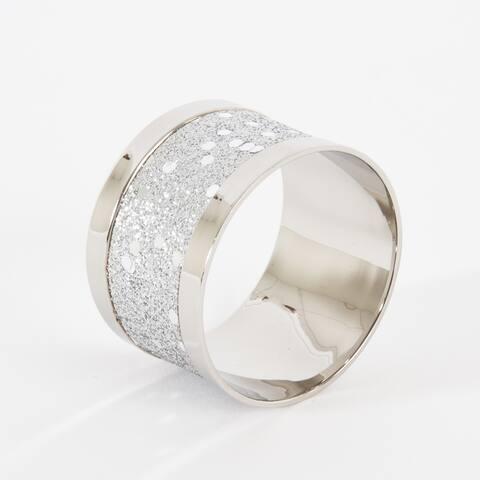 Sparkling Design Napkin Rings (Set of 4)