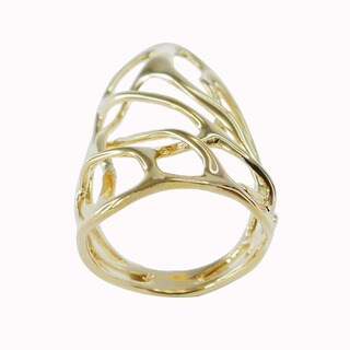 De Buman 18k Gold Plated Ring