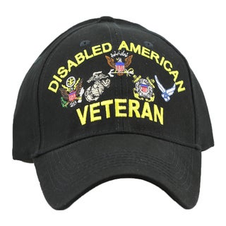 US Disabled Veteran Military Cap