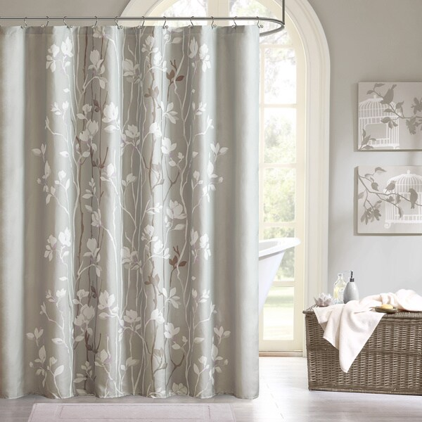 Copper Grove Evanoff Printed Shower Curtain