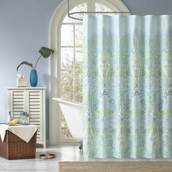 Shop Madison Park Essentials Carly Printed Shower Curtain