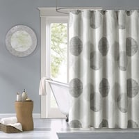 Tommy Bahama Shoretown Trellis Grey Cotton Shower Curtain - Free ...