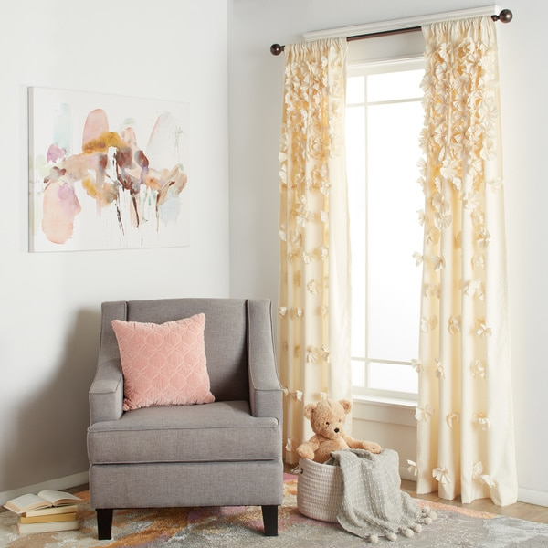 Lush Decor Riley 84 Inch Curtain Panel Free Shipping On