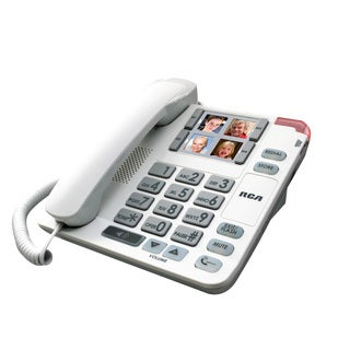RCA Corded Amplified Speakerphone Desk Phone
