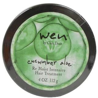 Wen Cucumber Aloe 4-ounce Re Moist Intensive Hair Treatment