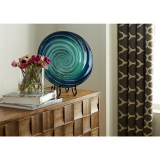 Link to Moody Swirl Glass Tray Similar Items in Glass Wall Art