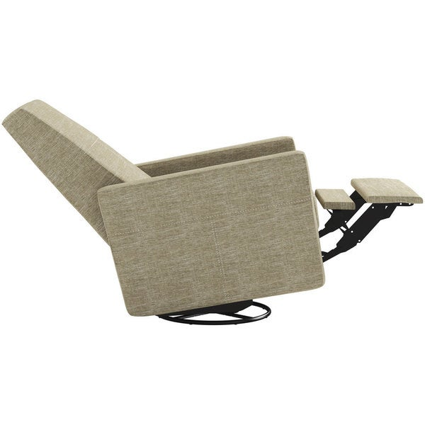 Dutailier Minho Upholstered Beige Glider Recliner - Free Shipping Today - Overstock.com - 16670536  sc 1 st  Overstock & Dutailier Minho Upholstered Beige Glider Recliner - Free Shipping ... islam-shia.org