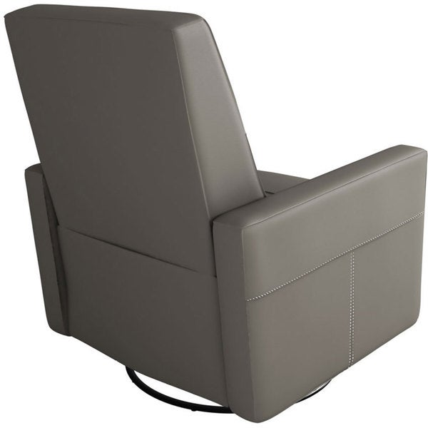 Dutailier Minho Castle Grey Upholstered Glider Recliner - Free Shipping Today - Overstock.com - 16670537  sc 1 st  Overstock & Dutailier Minho Castle Grey Upholstered Glider Recliner - Free ... islam-shia.org