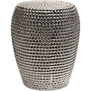 Wright Silver Metallic Garden Stool  sc 1 st  Overstock.com & Garden Accents - Shop The Best Deals for Nov 2017 - Overstock.com islam-shia.org