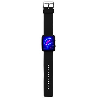 Dakota Fusion Women's Future Digital LED Black Watch