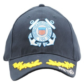 US Coast Guard Retired Cap with Scrambled Eggs