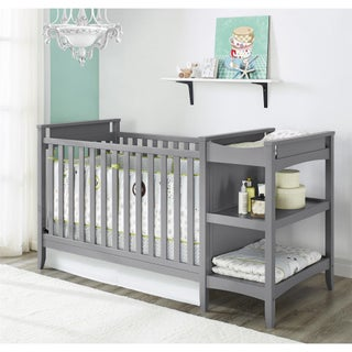 Avenue Greene Lea 2 in 1 Crib and Changing Table Combo