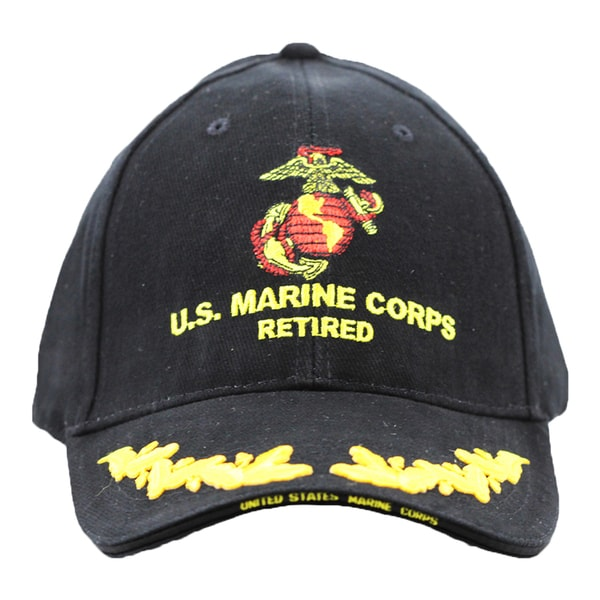 US Marine Corps Retired Cap with Scrambled Eggs