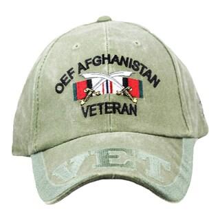 OEF Operation Enduring Freedom Afghanistan Veteran Cap