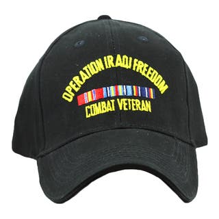 Shop Iraq War Veteran Baseball Cap On Sale Free