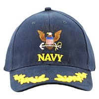 US Navy Embroidere Military Cap with Scramble Eggs