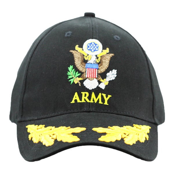 US Army Military Cap with Scrambled Eggs