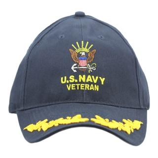 US Navy Veteran Military Cap with Scrambled Eggs