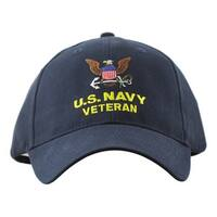 US Navy Veteran Military Cap