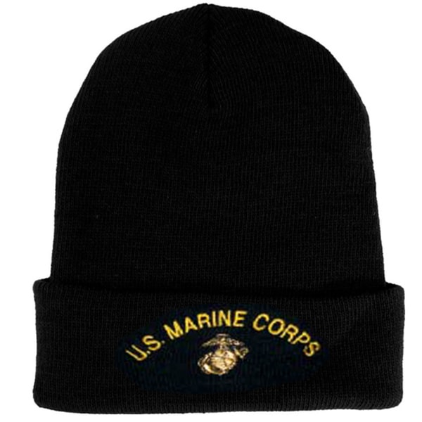 Shop Us Marine Corps Knit Hat On Sale Free Shipping On