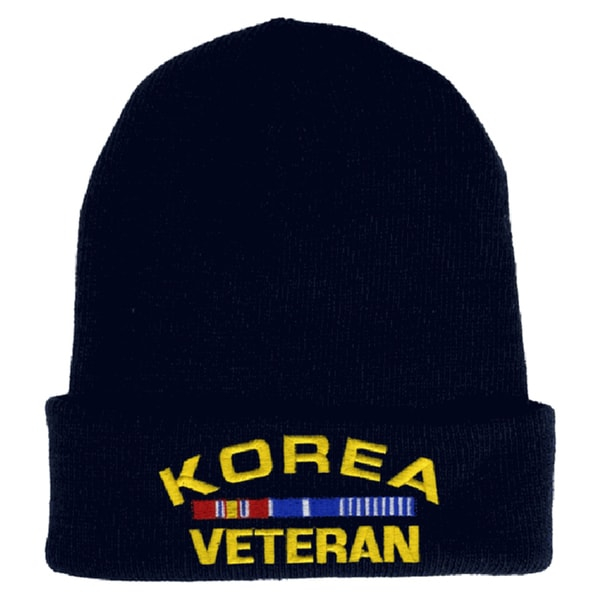 Korea Veteran Knit Hat