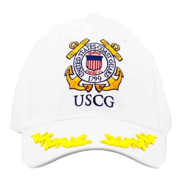 US Coast Guard Cap with Oak Leaf Sprig