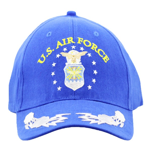 US Air Force Military Cap with Scrambled Eggs