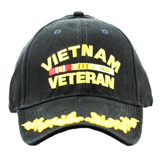 Vietnam Veteran Cap with Scrambled Eggs