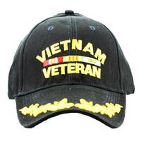 Vietnam Veteran Cap with Scrambled Eggs