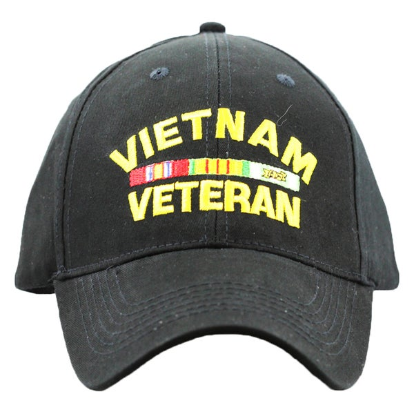 Embroidered Vietnam Veteran Military Cap