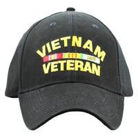 Embroidered Vietnam Veteran Military Cap