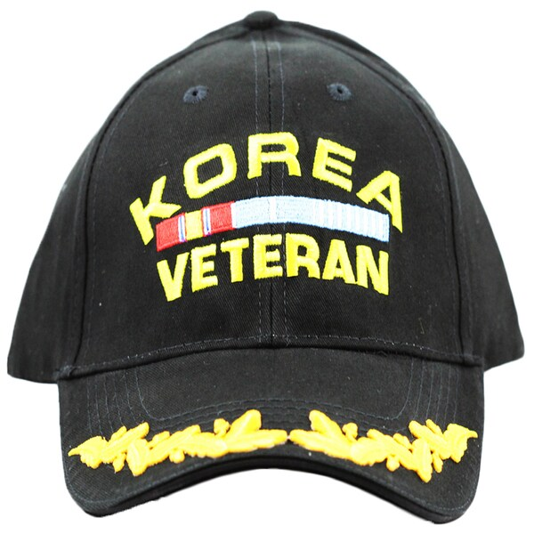 Military Cap Korea Veteran with Scrambled Eggs