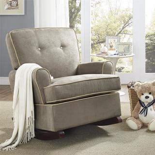 Baby Relax Tinsley Tufted Microfiber Upholstered Rocker