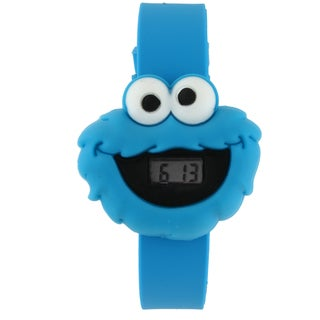 Sesame Street Kids' Cookie Monster Digital LCD Watch