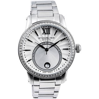 Stuhrling Original Women's Dawn Swiss Quartz Stainless Steel Bracelet Watch