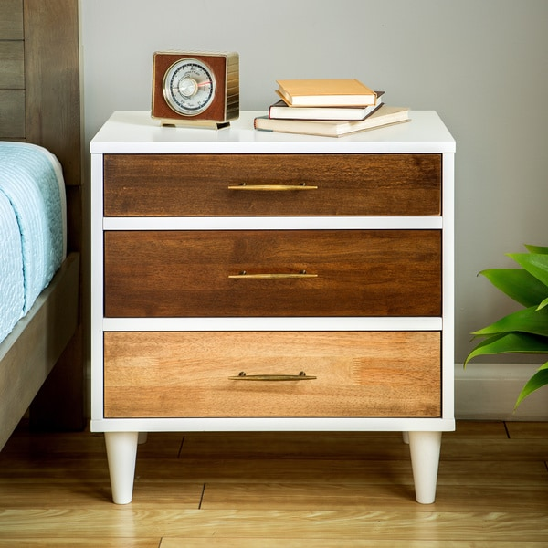 Christian 3-drawer Nightstand