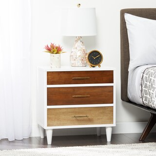 Christian 3 Drawer Nightstand