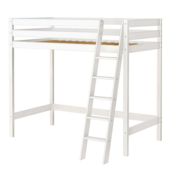 high roller high loft bed with angle ladder free shipping today