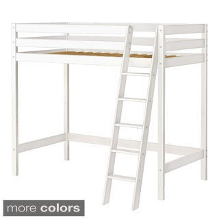 High Roller High Loft Bed with Angle Ladder