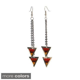 Amos Colorful Aguayo Earrings (Bolivia)
