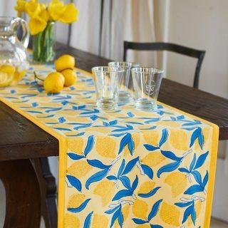 Couleur Nature Lemon Tree Table Runner