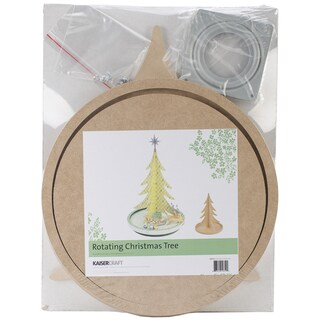 "Beyond The Page MDF Rotating Christmas Tree-14.75""X11""X11"""