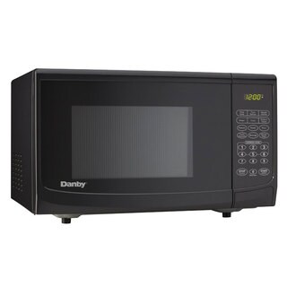Danby 0.7-Cubic-Foot Countertop Black Microwave Oven